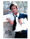Ian Ogilvy signed 8 by 10 Return of the Saint